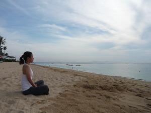 バリ島ヨガ瞑想
