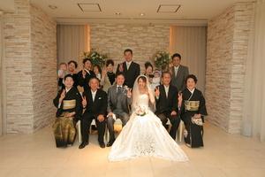 結婚式みんなで