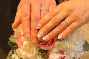 結婚式ネイル