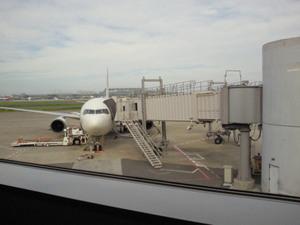 札幌行き飛行機
